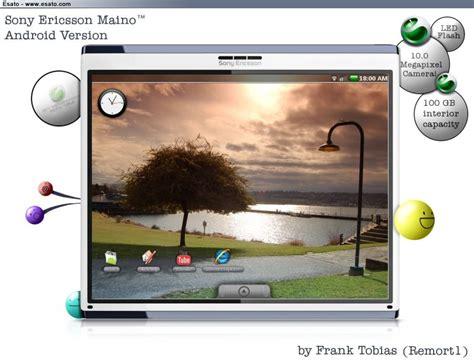 Tablet Sony Erikson sony ericsson tablet