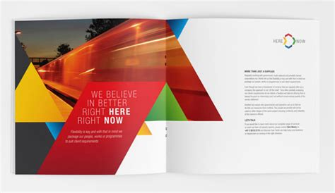 leaflet design concepts 25 really beautiful brochure designs templates for
