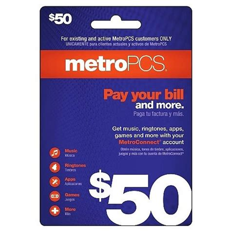 Metro Pcs Cell Phone Number Lookup Email Delivery Metropcs 50 Payment Card By Metro Pcs