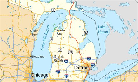 Of Michigan Mba Visit by Interstate 75 In Michigan