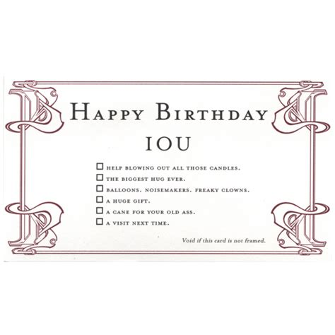 iou certificate template quiplip happy birthday greeting card from the iou collection