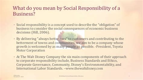 Responsibilities Of Business by Rethinking The Social Responsibility Of Business