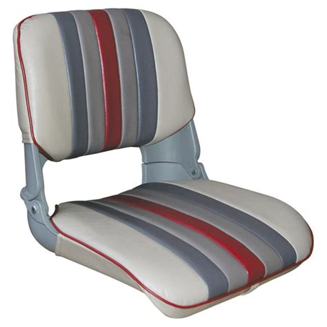 wise boat seat sets wise 174 plastic folding fishing chair cushion set 140350