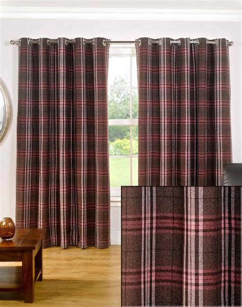 132 inch wide curtains buy sundour chequers mulberry lined eyelet curtains