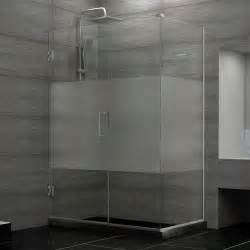 privacy for shower doors 15 decorative glass shower doors patterns for a bathroom
