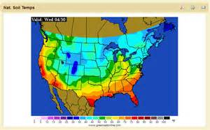 soil temperature map soil temperatures us map western pennsylvania club