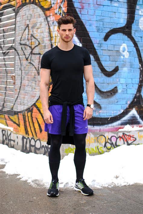 Shortpants Legging Nike Black For Running Fitness fitness artisan king