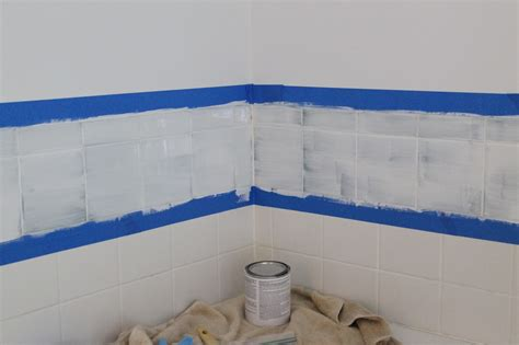 painted tiles bathroom tile paint home depot home painting ideas