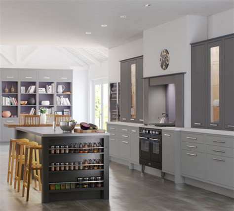 Shaker Cabinets Kitchen Designs by English Revival Kitchens Fitted Kitchens From Luxury For