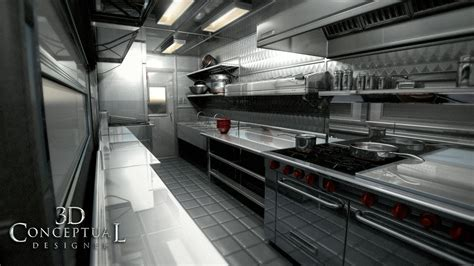 Food Truck Kitchen Design | 3dconceptualdesignerblog project review the great food