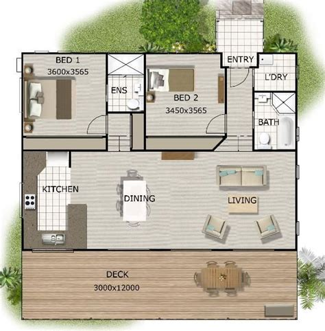 telopea granny flat designs plans 2 bedroom granny 2 bedroom granny flat on timber floor for sloping land