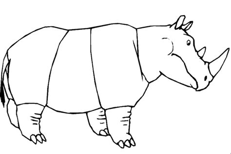 imagenes para colorear rinoceronte rinoceronte para colorir az dibujos para colorear