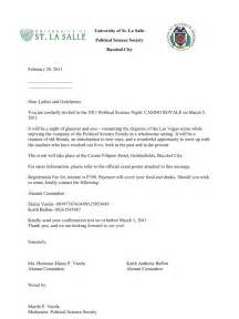 alumni solicitation letter with reply slip and logo 1