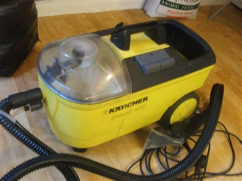 karcher upholstery cleaner karcher puzzi 100 carpet upholstery cleaner