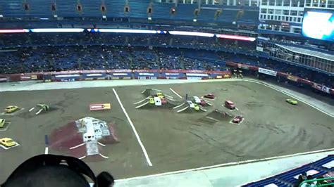 monster truck jam toronto 2011 monster jam toronto track layout youtube