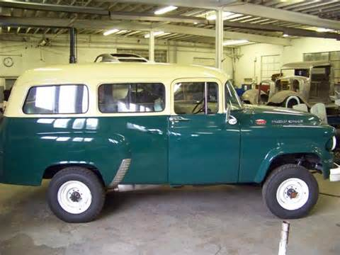 1960 dodge power wagon town wagon bent metal customs