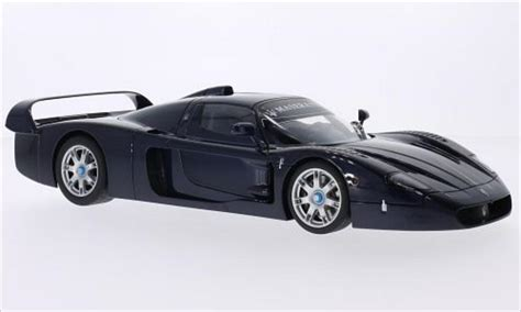 maserati mc12 blue maserati mc12 metallic blue 2004 autoart diecast model car