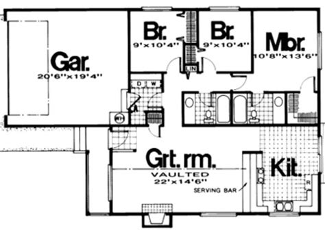 1200 sq ft bungalow floor plans for the home pinterest 1200 square foot house plans 1200 square foot house plans