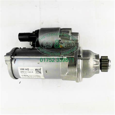 skoda octavia starter motor skoda octavia 1 2 1 4 tsi original equipment starter motor