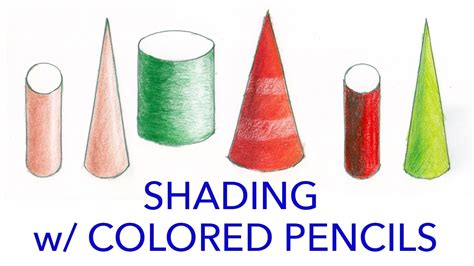 shading with colored pencils illustration tutorial shading with colored pencils