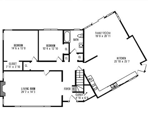 house plans with no dining room best of single roomed five hearth keeping ranch