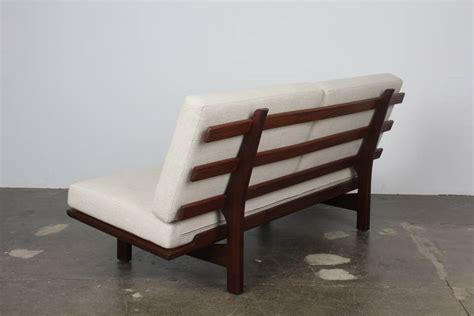 modern park benches danish modern park bench style sofa in the manner of hans