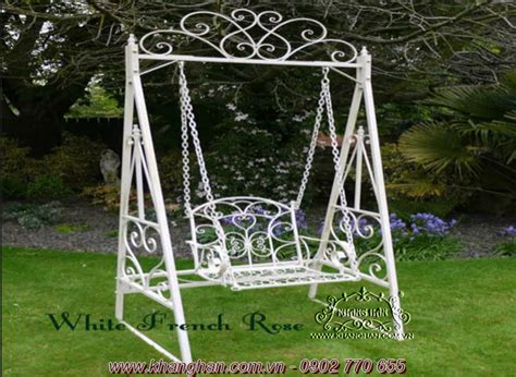 wrought iron swings wrought iron garden swing khang han art