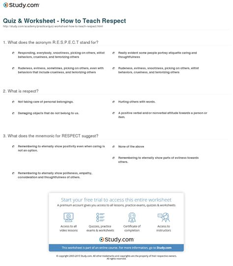 printable worksheets on respect respect worksheet free worksheets library download and