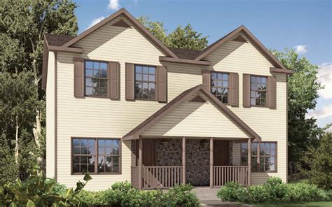 Landon Homes Floor Plans Duplex And Townhouse Style Modular Homes From Gbi Avis