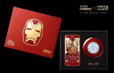 Samsung S6 Ironman Limited Edition samsung unveils galaxy s6 edge iron limited edition