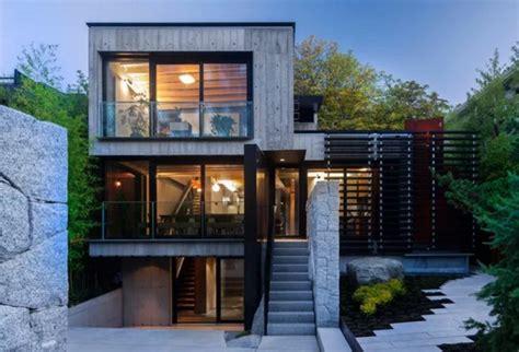 inspired modern houses the brasharian บ านสามช นสไตล โมเด ร นลอฟท ตกแต งด วยป นเปล อย เหล ก