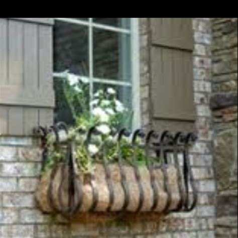 Wrought Iron Window Boxes Planters by 17 Best Ideas About Wrought Iron Window Boxes On