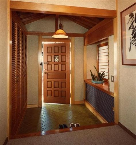 japanese foyer japanese genkan easy storage for shoes keeps the house