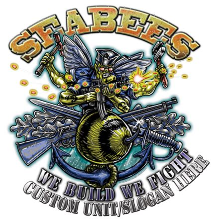 seabee nmcb construction battalion we build we fight shirt