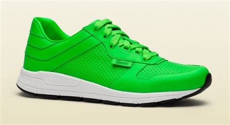 neon gucci sneakers it s time for neon gucci s fall 2014 sneakers extravaganzi