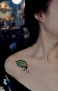 colorful tattoos for females colorful feather tattoos www imgkid the