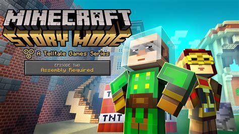 minecraft story mode minecraft story mode a telltale games series gamespot