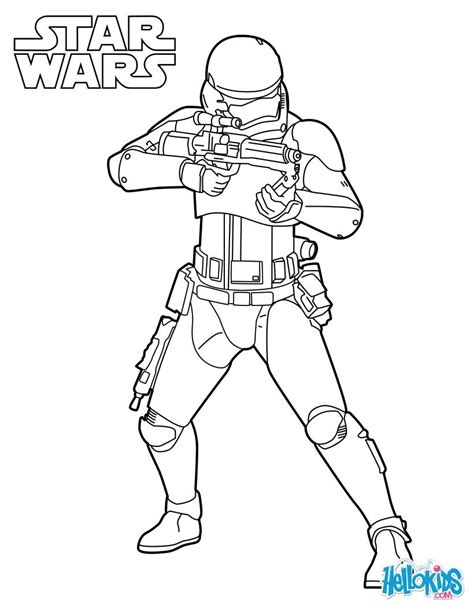 star wars stormtrooper coloring pages hellokids com