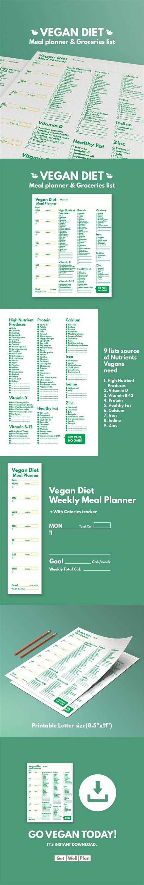 tbt updated grocery list with meal planner positive inspired living