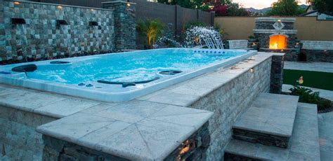 swim spa backyard designs ottawa s best hot tubs and swim spas west ottawa hottubs