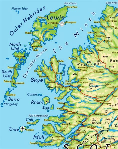 hebrides map sources in focus newspaper reports of weather in
