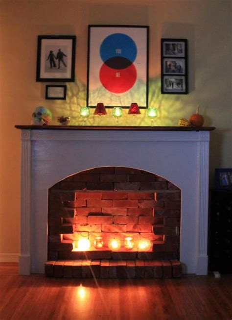 i installed a fireplace in my apartment offbeat home