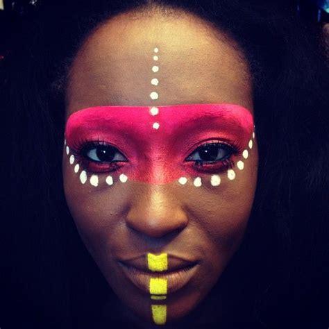 tribal pattern face paint tribal makeup designs mugeek vidalondon
