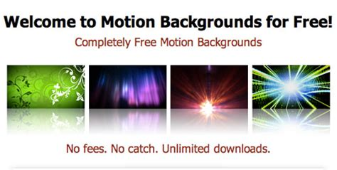 motion graphics templates free 19 websites to free stock intros footage