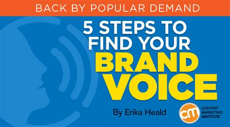 5 Steps To Buy by 5 Steps To Find Your Brand Voice