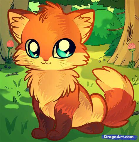 Anime Fox by How To Draw An Anime Fox Step By Step Anime Animals