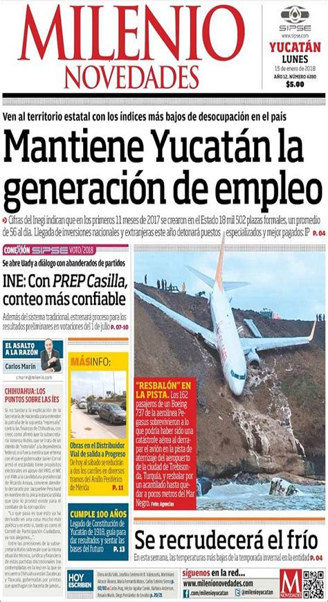 todays front pages  yucatan times