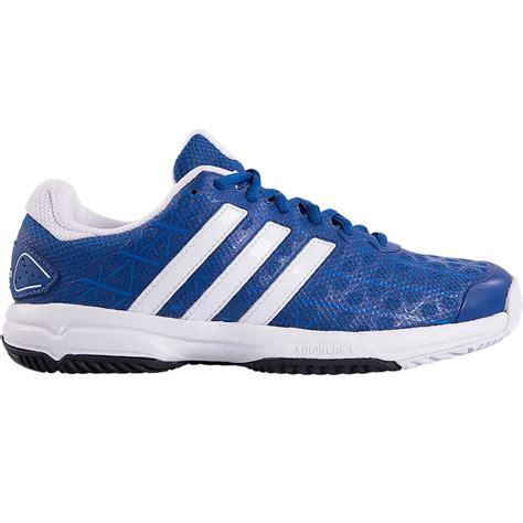 adidas barricade club junior tennis shoe blue white