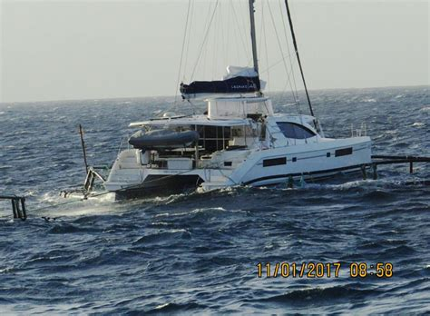 catamaran boat accident leopard catamaran accident at sea just catamarans