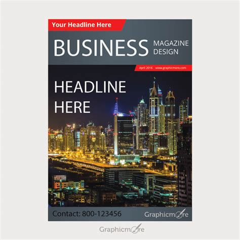 blue magazine cover design psd print template psdgraphics 30 best magazine cover page designs psd templates